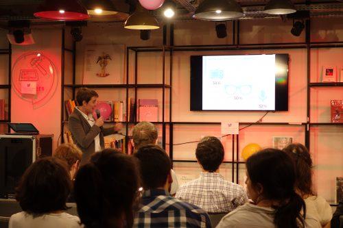 Anne Boring présente à la soirée de lancement de Parité au Pouvoir