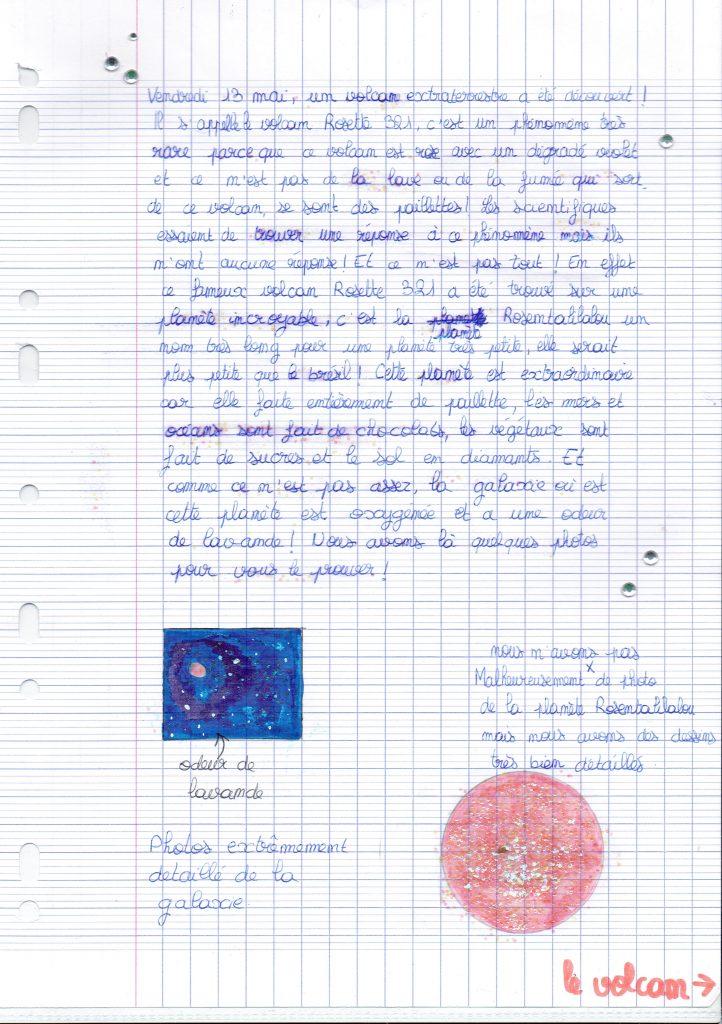 Un grand merci à Yoann Reverdy et la vingtaine d'élèves de 4ème du collège Louise Michel de Faremoutiers !!!